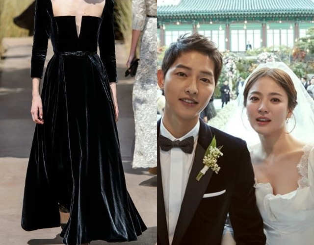 Song Hye Kyo S Wedding Dress The Only One Dior Masterpiece In The