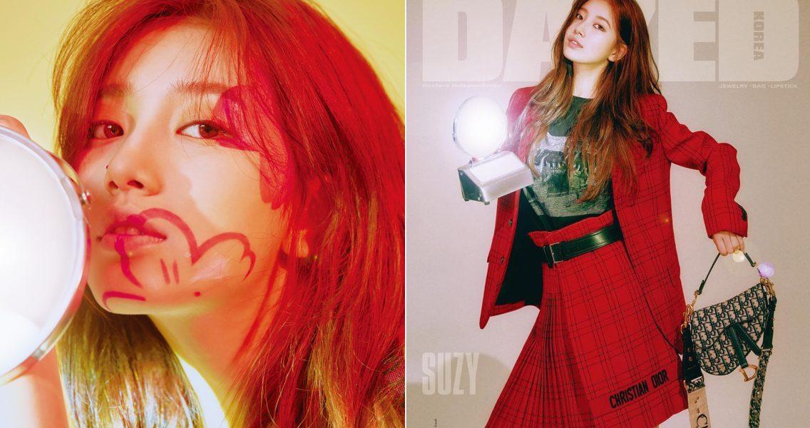 Suzy yang cantik… Bagaimanapun bajunya dan make-upnya