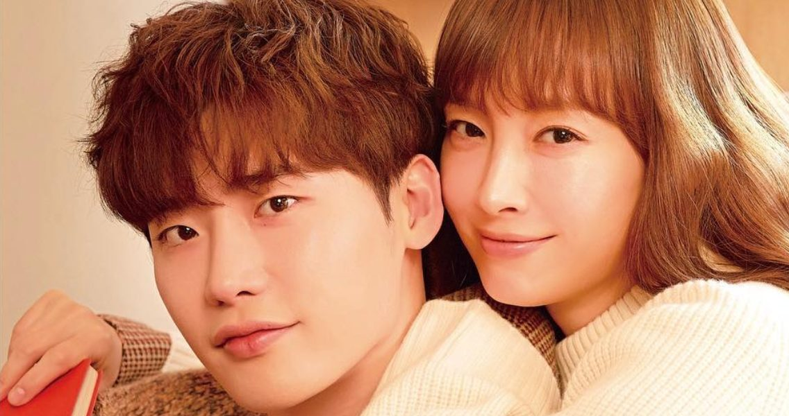 Lee Na Young x Lee Jong Suk.. rilis poster utama drama 'Romance Supplement'